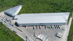Frialsa Cold Storage facility in Mexico with CO2 Casdcade